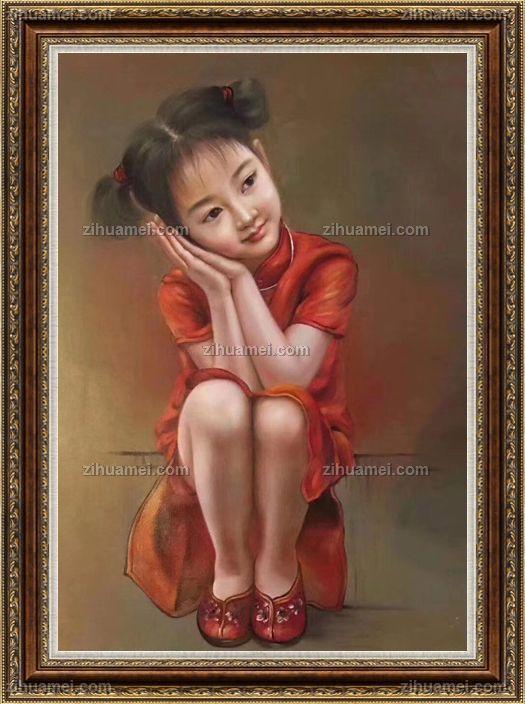 www.zihuamei.com油画人物画