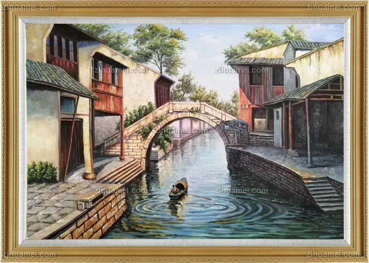 新中式油画