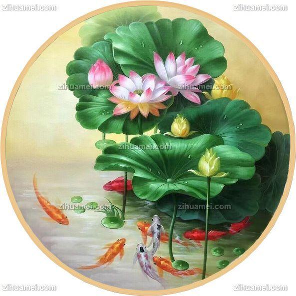 餐厅适合什么样的花卉油画