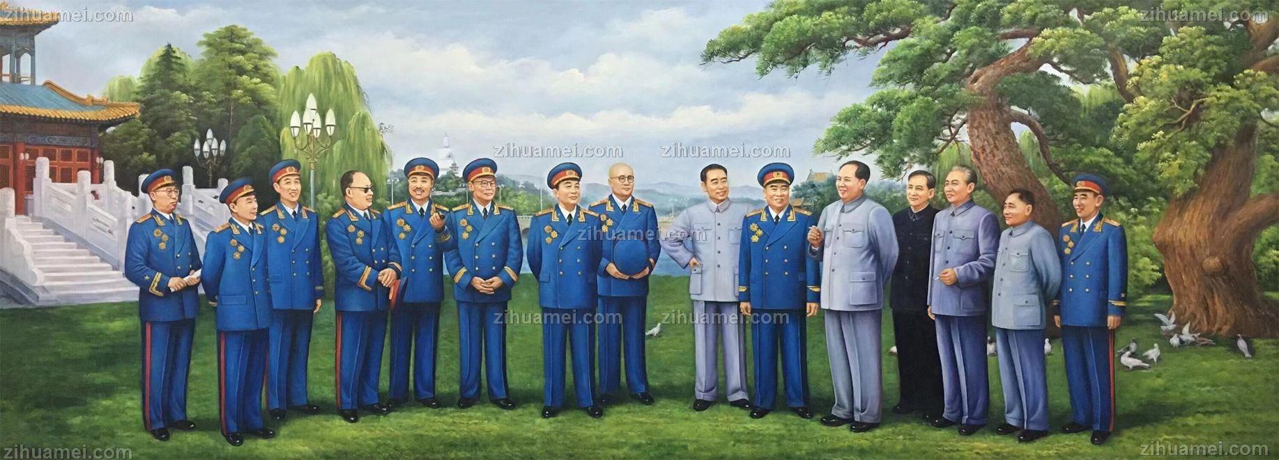 大型人物油画纯手绘肖像画