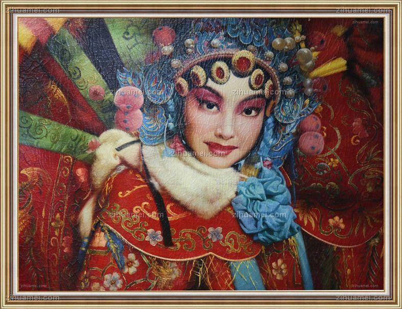 油画国粹京剧