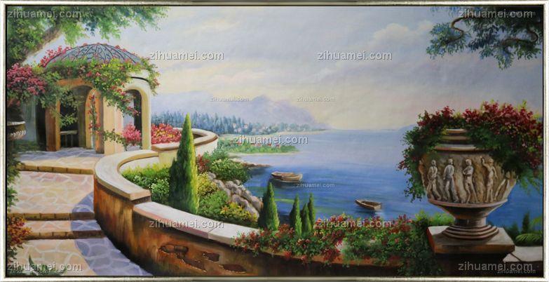油画 地中海