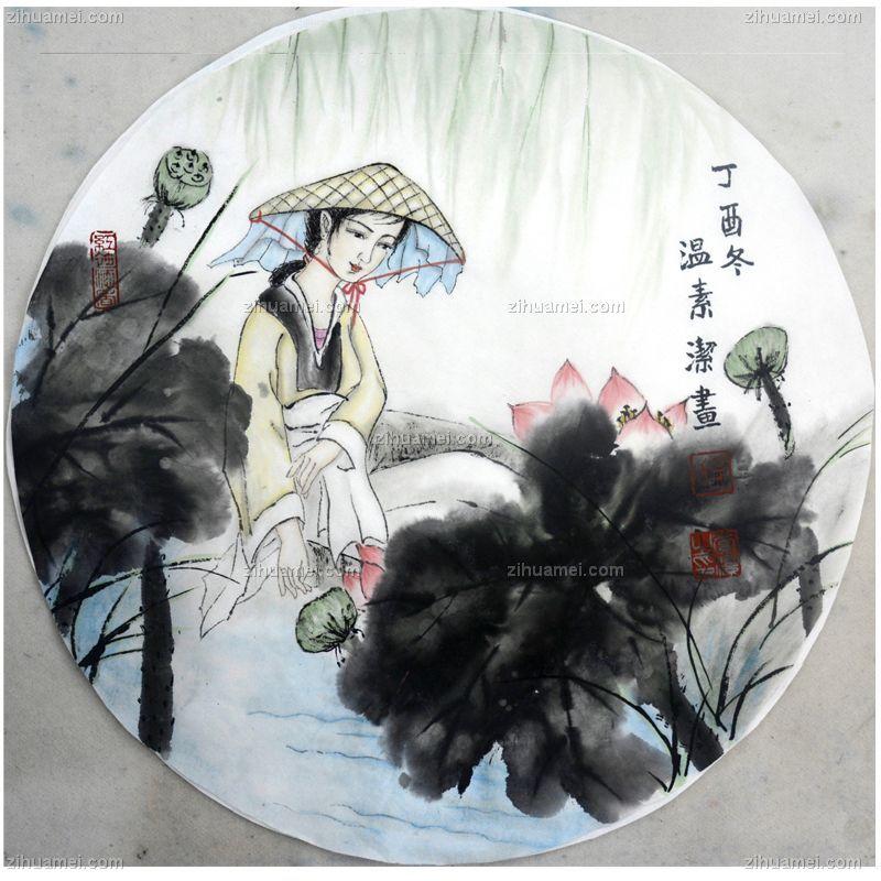 荷塘采莲,张惠斌的关门弟子温素洁