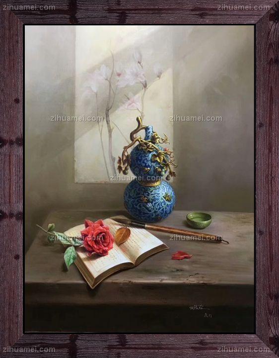 中式油画 家庭挂画