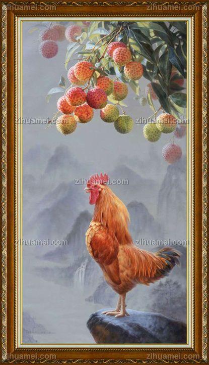 www.zihuamei.com油画风景花鸟画