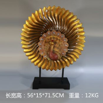 Open screen waiting for 12kg sculpture ornament Chinese style ornament exquisite handicraft sculpture雕塑摆件
