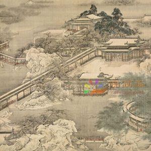 故宫名画风景