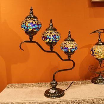 伊朗彩色玻璃灯