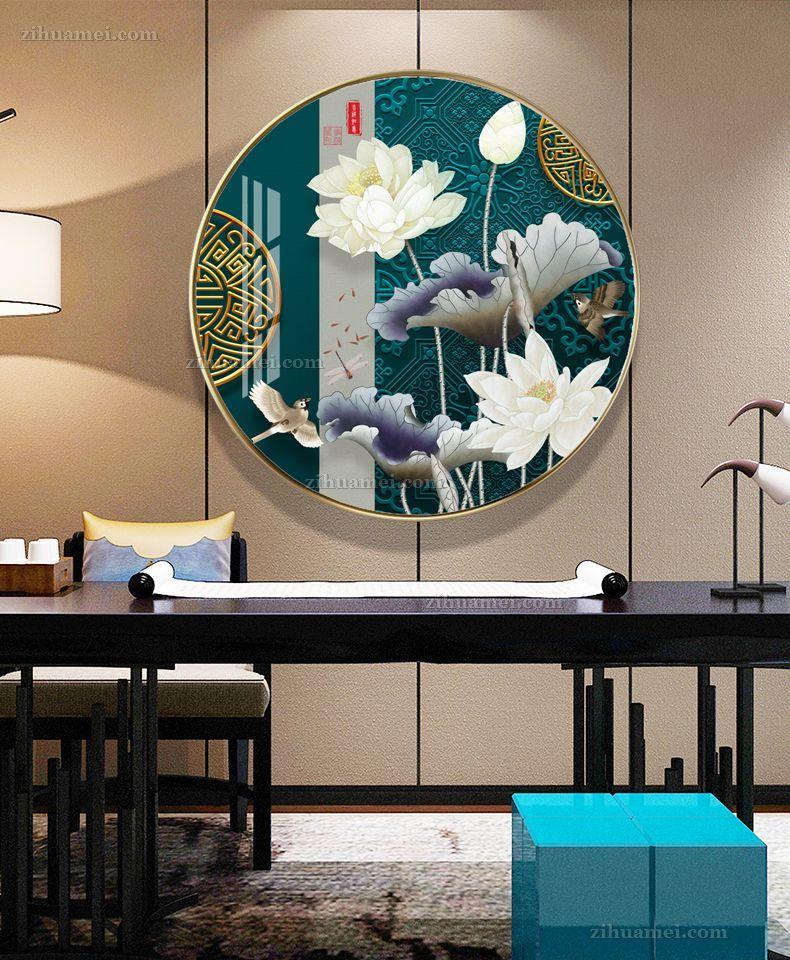 奢华国风传统中国画