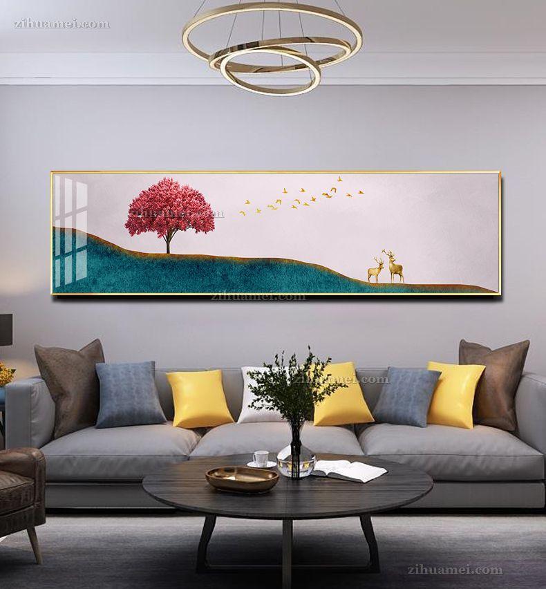 客厅横幅装饰画