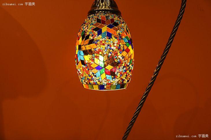 伊朗波斯纯手工艺品台灯