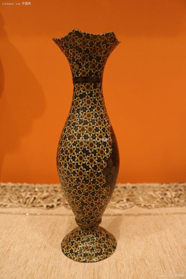 伊朗纯手工Khatam工艺品