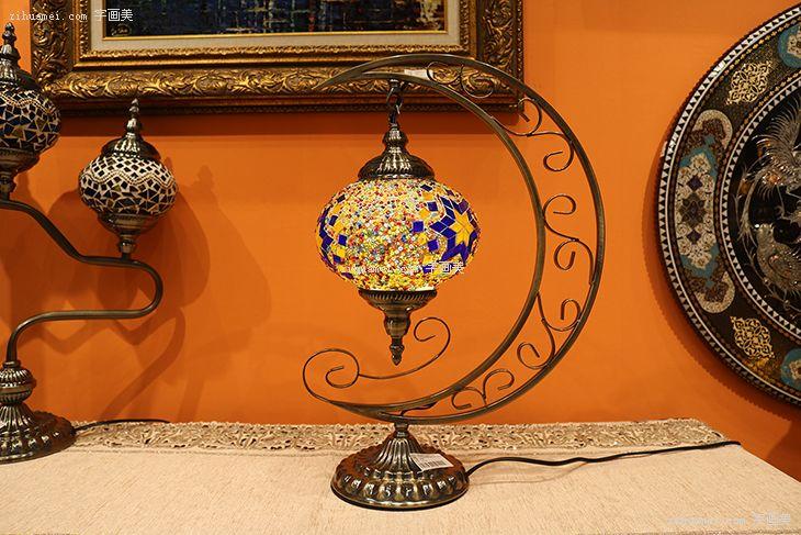 伊朗彩色玻璃艺术灯