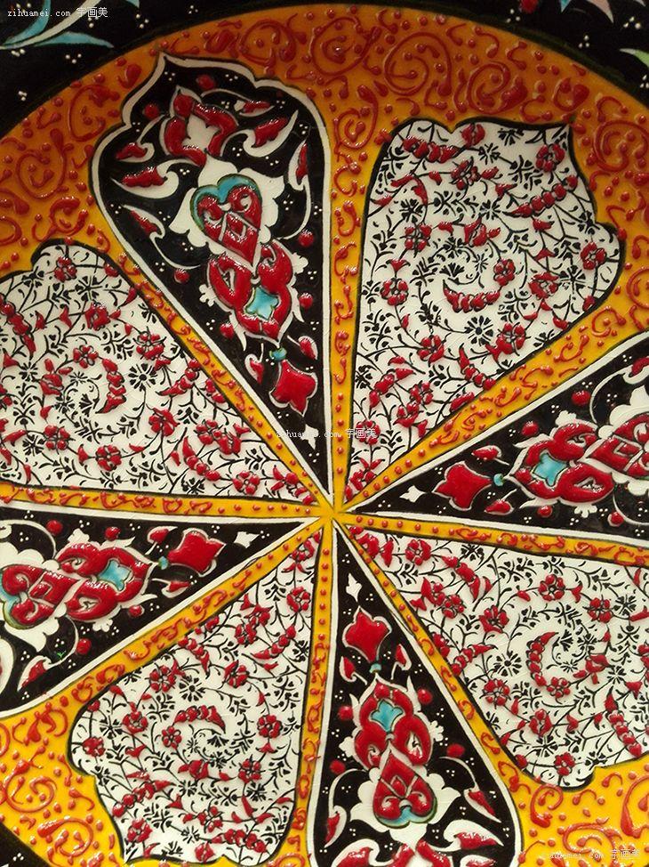 伊朗纯手工陶瓷mina